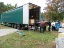 Rozładunek mebli, odzieży oraz sprzętu rehabilitacyjnego sprowadzonego 03.10.2013