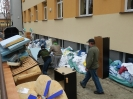 Dostawa mebli i odzieży - luty 2014